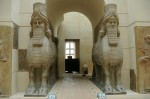 cour khorsabad, Louvre, croquis, dessin artistique, art mésopotamien,
