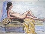 modèle vivant,dessiner le nu,étude du nu,atelier de modèle vivant