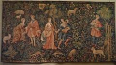 tapisserie de la Renaissance, tapisserie au Louvre, vitrail,