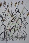 "Mus""um, jardin des plantes, jardin alpin, dessin au jardin, cours de dessin, cours d'aquarelle"