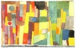 Paul Klee, aquarelle, confinement,