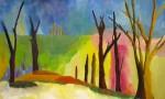 cours de peinture,peindre la nature,peindre les arbres,peinture à l'huile,cours de peinture,coach peinture
