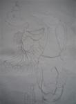 louvre,cours de dessin,croquis au louvre,art d'islam