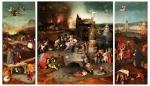 Jérôme Bosch, théorie de la couleur, technique de peinture, Bosch tentation de saint antoine,