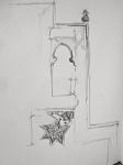 dessiner au Louvre, croquis, Maroc médieval,
