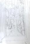 dessiner à la maison,fenêtre