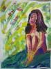 Peinture, art contemporain, cours de dessin,cours de peinture, atelier de peinture, Paris, modèle vivant, nu art du nu, dessin, peinture, gouache, composition,