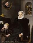 Cornelius de Visscher portrait d'une veuve de quarante ans