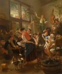 P. Jan Steen joyeux repas de famille .JPG