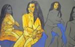 modèle vivant, règle de composition, peinture, dessin,