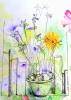 #cours de dessin,#dessiner les fleurs,#aquarelle,#dessinaufeutre,#dessinaucrayon