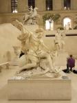 Cour Marly, sculpture française, Louvre, dessiner au Louvre,