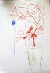 dessiner à la maison,dessiner la flore