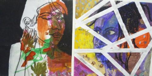 polyptyque,triptyque,diptyque,peinture,pastel,dessin,modèle vivant,cours de peinture,cours de modèle vivant