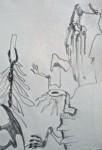 galerie de paleontologie, muséum, dessiner, croquis, dessin artistique, création artistique, Paris, Marie-Annick,