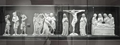 louvre, sculpture, Moyen-Age,