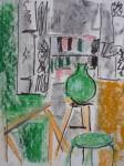 dessin, pastel, cours de peinture, atelier de peinture,