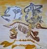 paléontologie,carnet de voyage,squelette,animaux,muséum,mnhn,cours de dessin,croquis,art,arts plastiques,paris