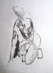 modèle vivant, dessiner le nu, étude du nu, atelier de modèle vivant,