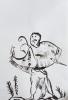 encre de chine, cours de dessin, atelier de dessin enfant, atelier grenelle,