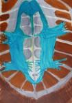 croquis, dessin, feutre, dessin documentaire, dessin beaux arts, ptéranodon, paléontologie, dinosaure,