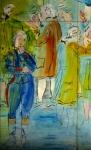 musée d'art moderne de paris,art moderne,sonai delaunay,robert delaunay,dessienr au musée,activité enfant parent