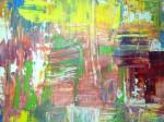 jeu de couleur, peinture à l'huile, peinture au couteau, cours de peinture,