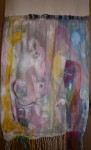 exposition, mairie du 7ème, art contemporain, peinture, sculpture, bronze, autoportrait, peinture tissus, art textile, collage, laurent thomas, martine haas,