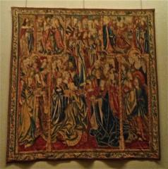 Louvre 14:03:19 tapisserie Histoire de Gédéon Remise du butin pris sur les madianites Flandres XV.jpg
