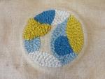 atelier grenelle, cours d'art textile, créativité, punch needle, broderie,