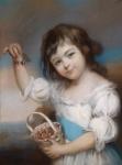 John Russel pastel Mary Hall.jpg