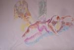 atelier de modèle vivant, atelier de nu, cours de dessin, cours de pastel, cours d'aquarelle