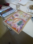 créativité, aquarelle, peinture chinoise, couleur, cours de peinture, peinture créative,