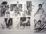 nu, dessin, peinture, pastel, modèle vivant, arts plastiques, atelier de peinture, photos,