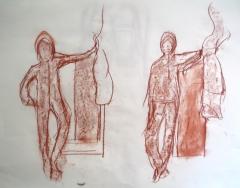 atelier de dessin,atelier de modèle vivant