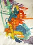 peinture modèle vivant, peinture à l'huile, atelier de peinture,