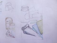 galerie botanique, muséum, dessiner sur le vif, dessiner d'après réel, cours de dessin, recherche de composition,