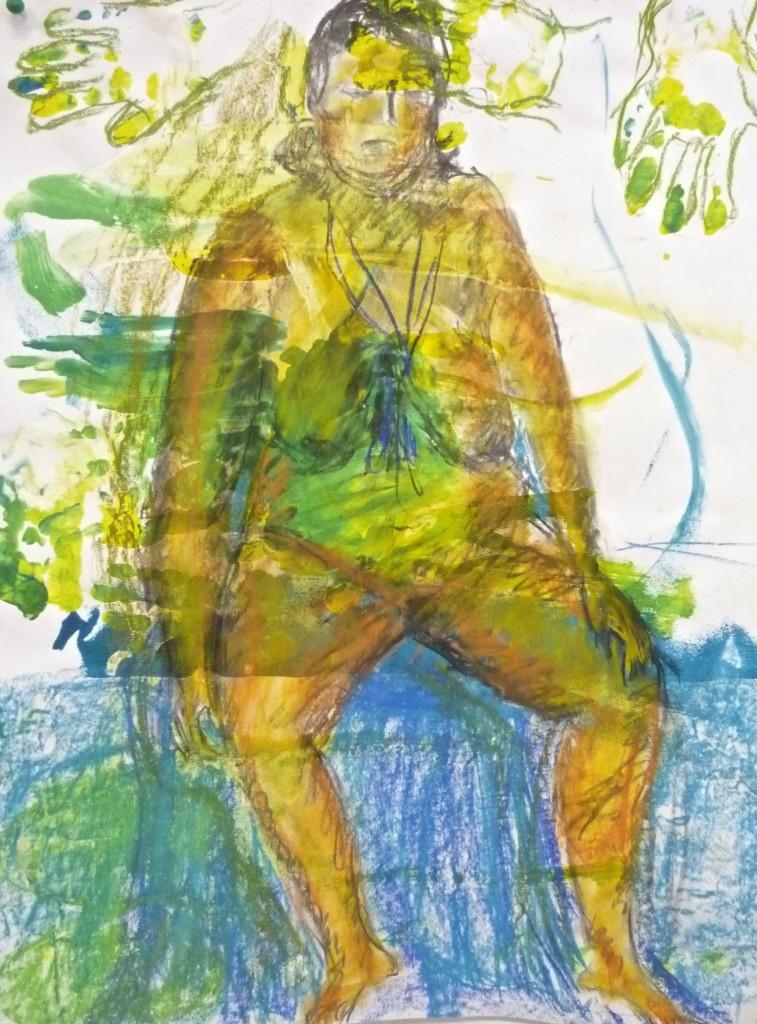 modèle vivant,peinture à lhuile,peinture artistique,couleur