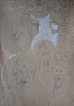 objets du moyen-âge, objets de la Renaissance, dessiner au Louvre, vitrail, émaux de Limoge, céramique, ivoire, sculpture, reliquaire,
