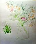 dessiner en confinement,dessiner à la maison,dessiner au feutre,aquarelle,nature morte,still life