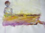 Modèle vivant, art du nu, polyptyque, gouache, dessin, pastel, cours de dessin, cours de peinture cours de modèle vivant,
