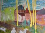 Exposition de dessin, exposition de peinture, bibliothèque St Simon, Paris, dessiner la nature, peindre la nature, Pastel, aquarelle,