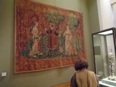 Louvre Scène allégorique Flandres XVIe 1. Tapisserie.jpg