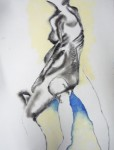 dessin de modèle vivant, peinture de modèle vivant, pastel, cours de modèle vivant, diptyque,