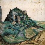 aquarelle albert durer, paysage, aquarelle,histoire de l'aquarelle,technique d'aquarelle,le geste du pinceau