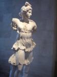 Louvre, dessiner au musée, sculpture grecque, cours de dessin,