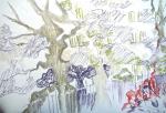 jardin alpin, jardin des plantes, cours de dessin, dessiner la nature,