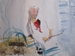 aquarelle,histoire de l'aquarelle,technique d'aquarelle,le geste du pinceau