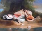 new frontier iv, exposition au louvre, nature morte, peintre américain,