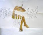 modèle vivant, cours de dessin, cours de peinture, aquarelle, Paris, atelier de Nu,
